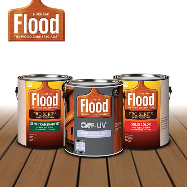 Wood Finishes and Exterior Wood Stains - Flood