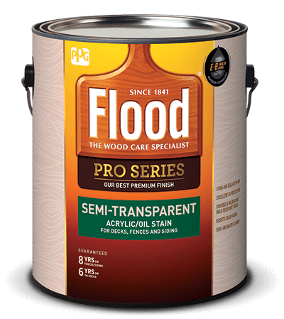 Flood wood stains wood finishes for Exterior wood stain flood
