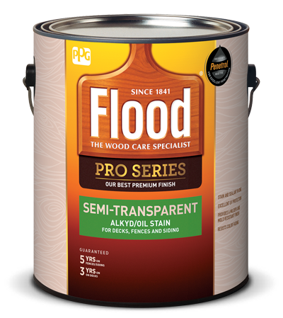 Pro Series Semi-Transparent Alkyd/Oil Stain