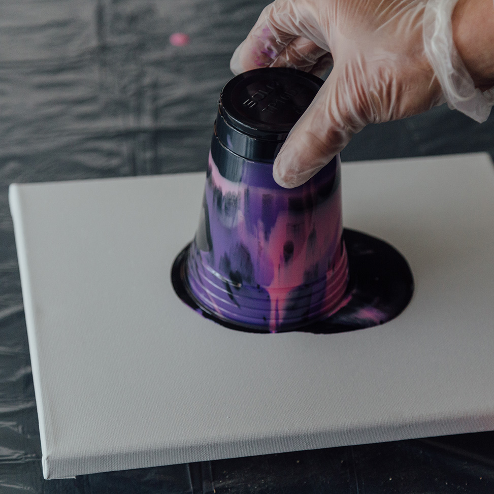 Acrylic Pouring With Floetrol